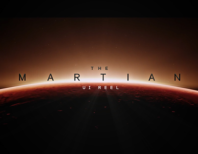The Martian - UI Screen Graphics
