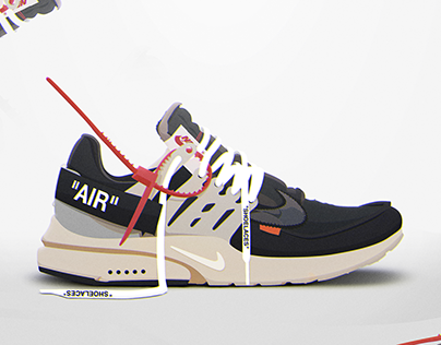"""Nike x Off White Air Presto"" Illustration"