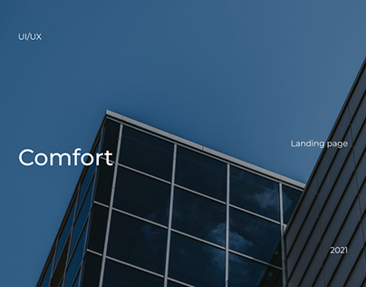 Comfort / Landing page for housing complex