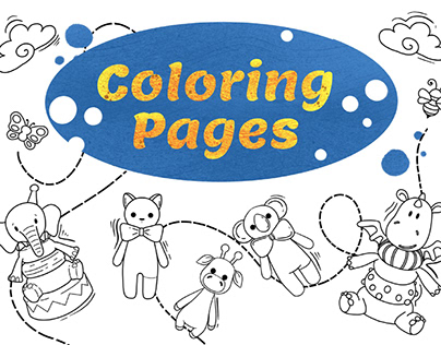 COLORING PAGES for finished products, coloring book