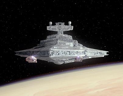 Star Wars TFA - Original opening scene