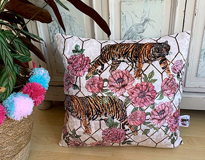 Asian Fusion Inspired Cushions