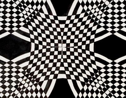 2D Optical Art