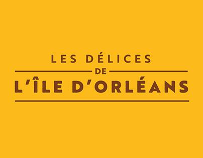 Identité visuelle - Délices de l'île d'Orléans