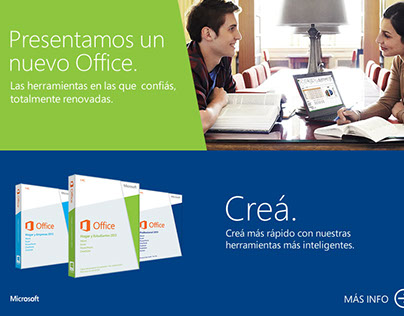 Microsoft :: Landings pages y piezas promocionales