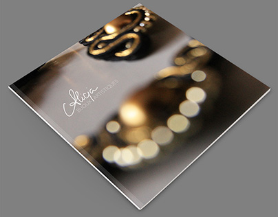 ALICJA jewelry photo album design