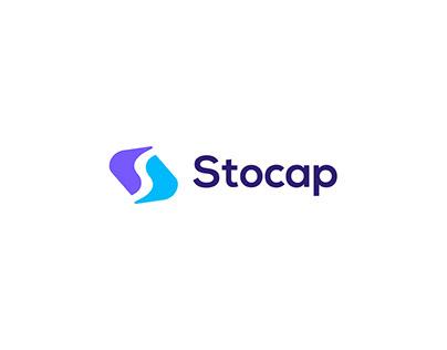 Stocap Logo Design-S Modern Letter Logo