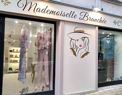 Mademoiselle Branchée - Brand Identity