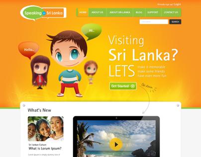 Speaking in Sri Lanka