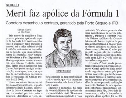 pontilismo para Gazeta Mercantil