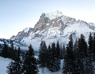 A day in Grindelwald, Switzerland