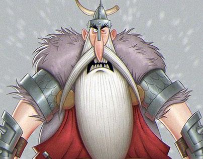 The Boorish Vikings: Character Design