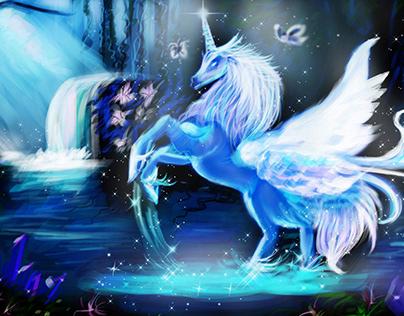 Digital Art Case Study - Pegasus