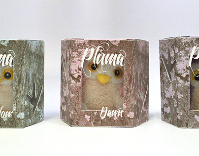 Pluma collective owls packaging