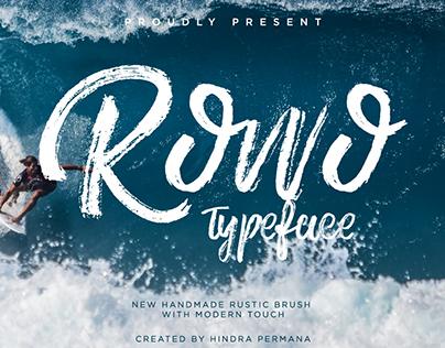 Rowo Typeface + Bonus