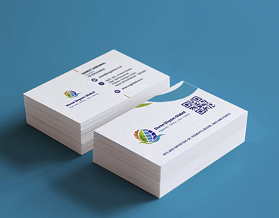 SSGlobal Visiting Card Design