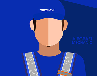 Omni Aviation Career Icons