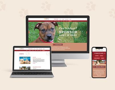 Lakeland Animal Shelter Website Design & Development