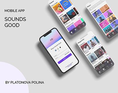 Mobile App. Sounds Good