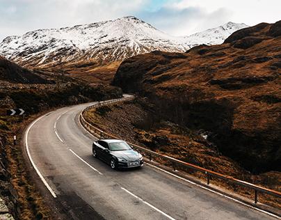 Roadtrip in Scotland