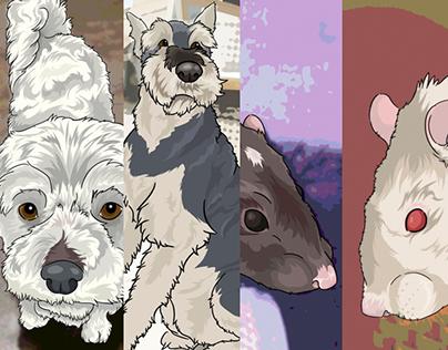 Pet Portraits (Digital)