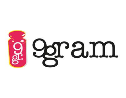 9gram Logo Design with Ozan Erten