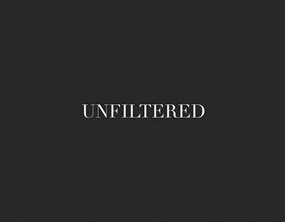 Graphic Design + Video Editor - Unfiltered