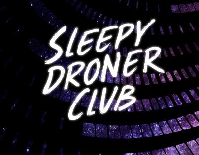 Sleepy Droner Club Poster Set