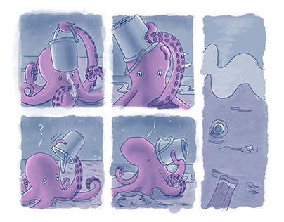 Octopus's Treasure Comic