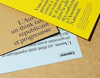 Brand design - L'aurore