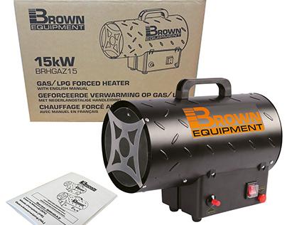 Brown Equipment heaters