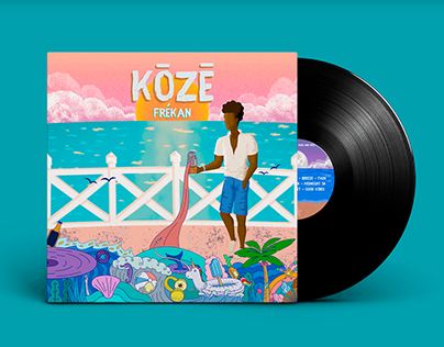 "Music Album ""Kōzē"" (Frékan)"