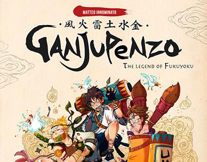 Ganjupenzo: The Legend of Fukuyoku - Parody Comic
