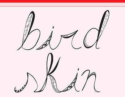 """""""Bird"""" Typography"""