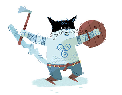 """VIKINGS CATS"""