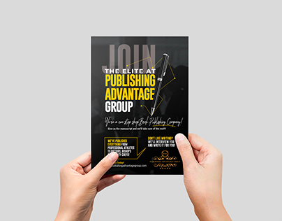 Flyer│Join The Elite at Publishing Advantage Group