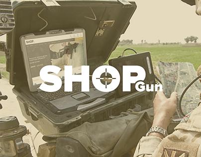 Shopgun - Redesign website