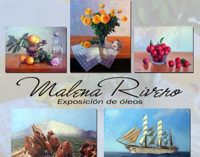 Tarjeta y Cartel Expo Pictorica