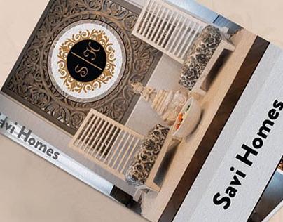 Brochure Design for Savi Homes