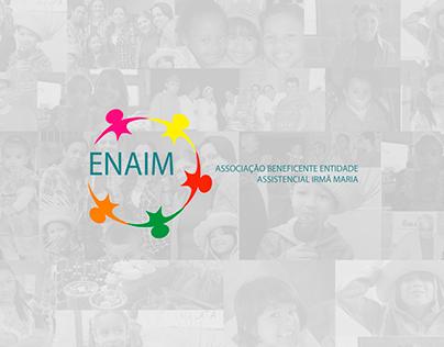 WEBSITE: ENAIM (Website para a ONG)