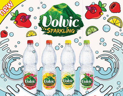 Volvic Sparkling Experiential