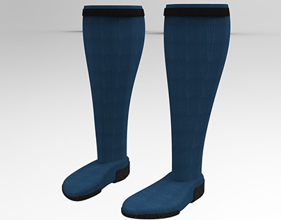 Football Socks with Grip and Pocket for Shin Guard