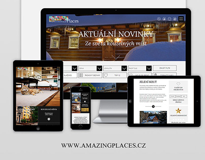 Amazing Places - web development