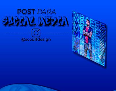 SOCIAL MEDIA - MBAPPE