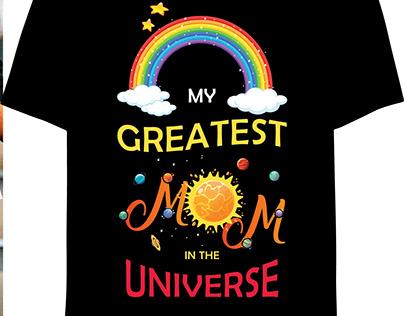 Mom T-shirt Design