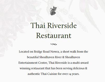 Thai Riverside Restaurant