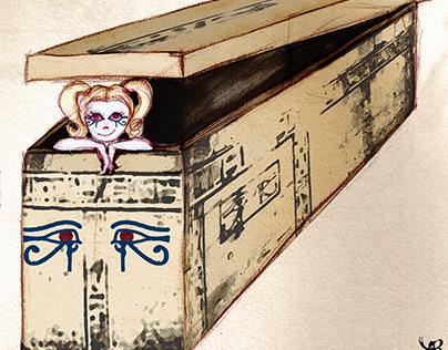 Archaeovoyeur's Treasure Trove (Illustrations for Blog)