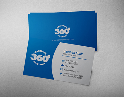 Marketing Company business card