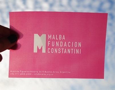 MALBA Museo - Identidad Institucional