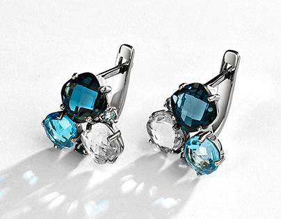 earrings retouch